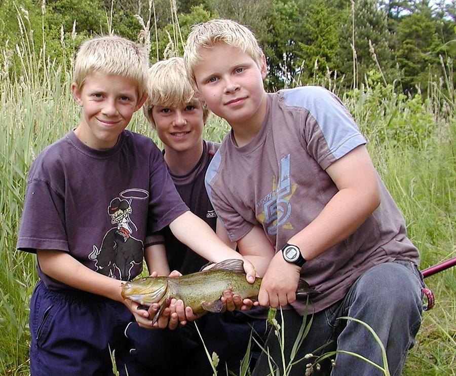 Børn Unge Søfiskeri Medefiskeri Suder