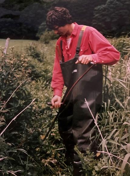 Michael arbejdede i 1990 som åmand ved Vejen Kommune. Noget der var meget lærerigt.